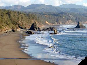 Photo Port Orford bay