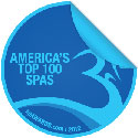 Logo for American's Top 100 Spa Awards